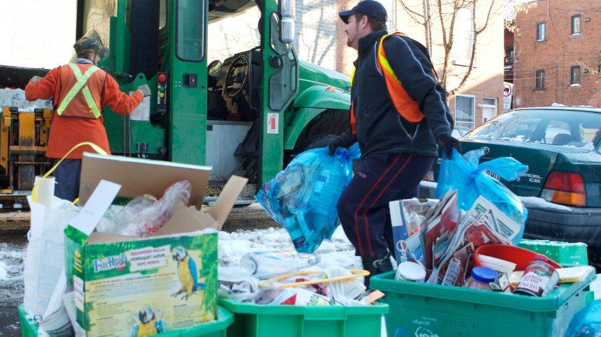 Recyclage: la collecte pêle-mêle blâmée pour les déboires de l'industrie