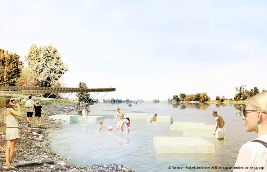 Plage de l'Est : toujours pas de baignade mais 7,3M$ d'investissement