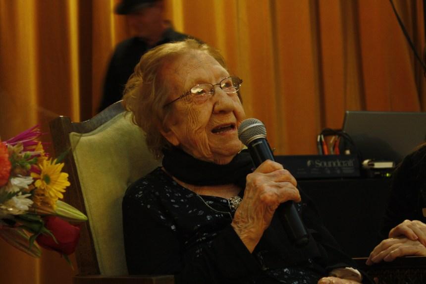 107e anniversaire d'une résidente de Pointe-aux-Trembles