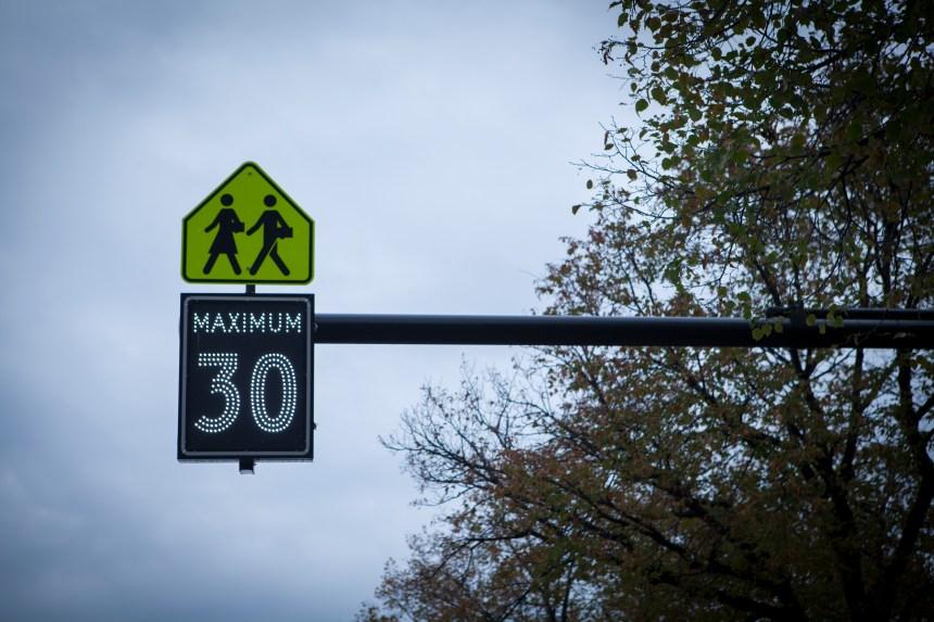 30 km/h dans Le Plateau pour la rentrée scolaire