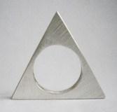 bijou bague triangle