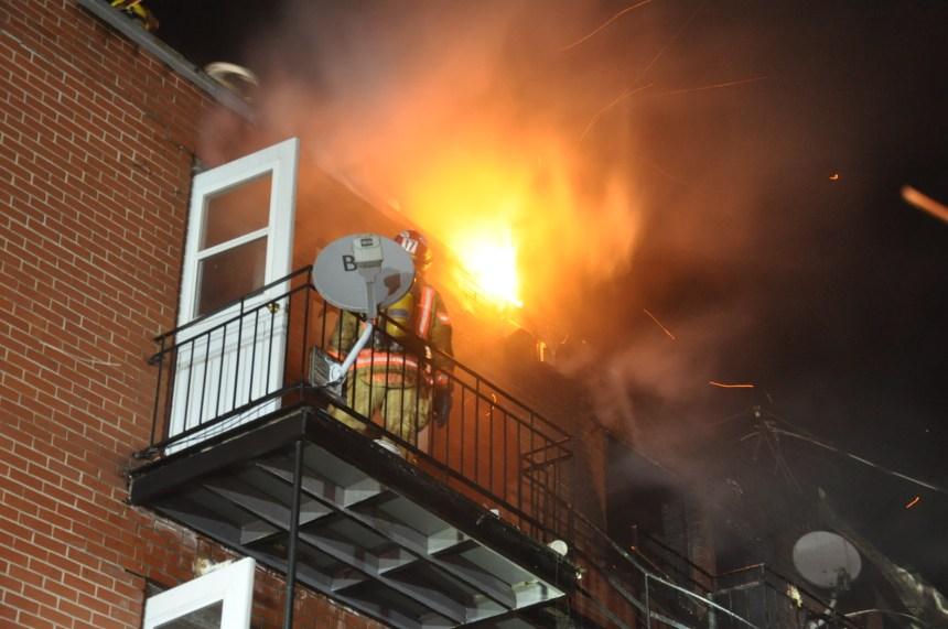 Une quinzaine de personnes jetées à la rue par un incendie