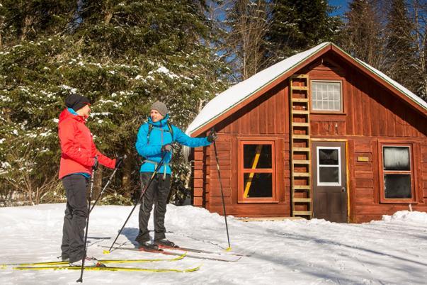 Ski de fond et relais au parc national du Mont-Tremblant - Crédit photo Mathieu Dupuis