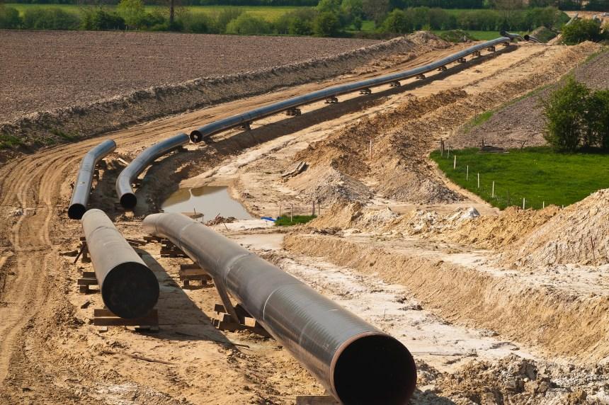 Tests hydrostatiques demandés sur toute la longueur du pipeline 9B