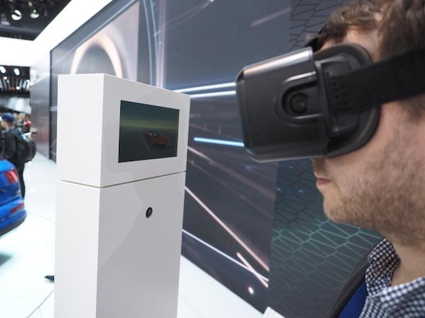 Réalité virtuelle: Audi aura des lunettes Oculus Rift chez ses détaillants