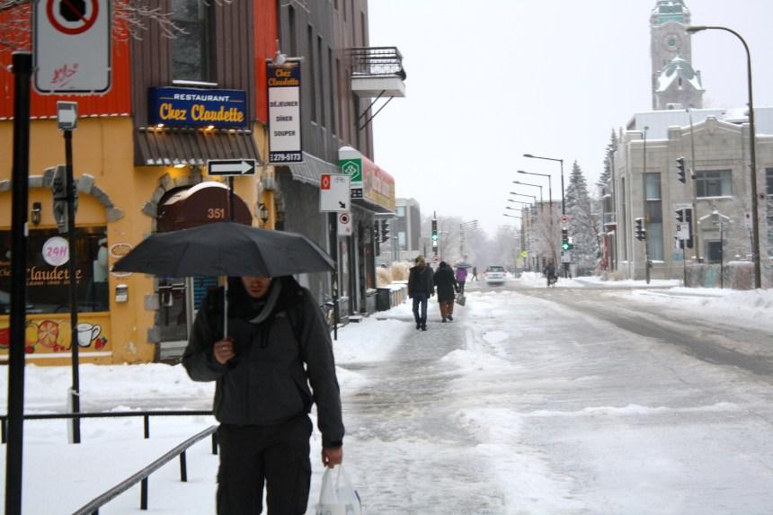 Écoles publiques fermées sur l'île de Montréal