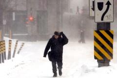 Tempête: déjà 36 cm de neige à Montréal