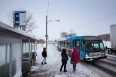 Des élèves abandonnés dans le froid par la STM