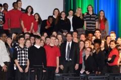 Des élèves de St-Jean-Vianney dans l'œil de PKP
