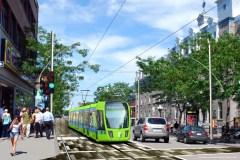 Le tramway prêt à faire son retour à Montréal avance un expert