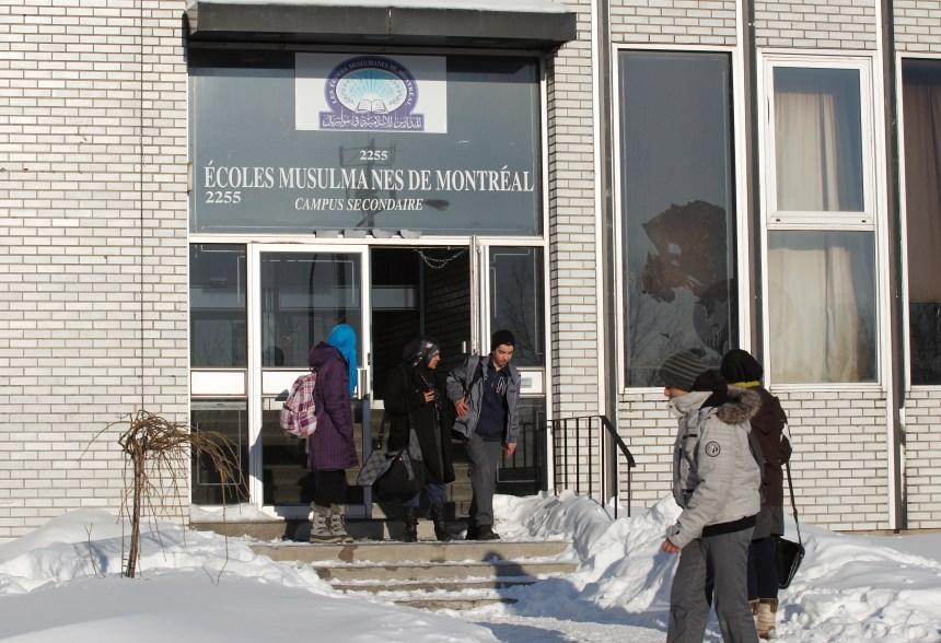 Une école musulmane victime d'un acte de violence