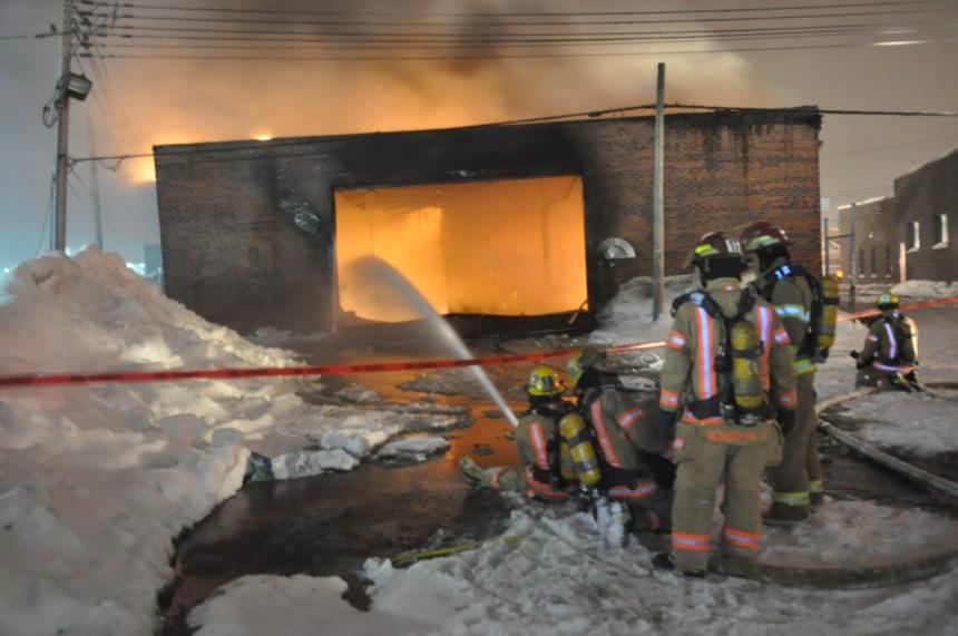 Incendie criminel dans un garage de l'AMT