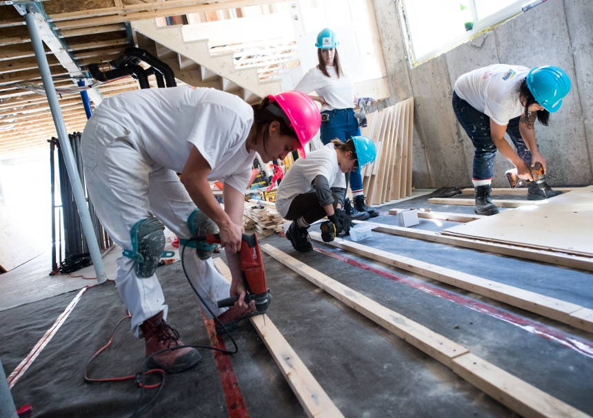Saint-Henri : Habitat pour l'humanité a deux hauts de duplex à vendre