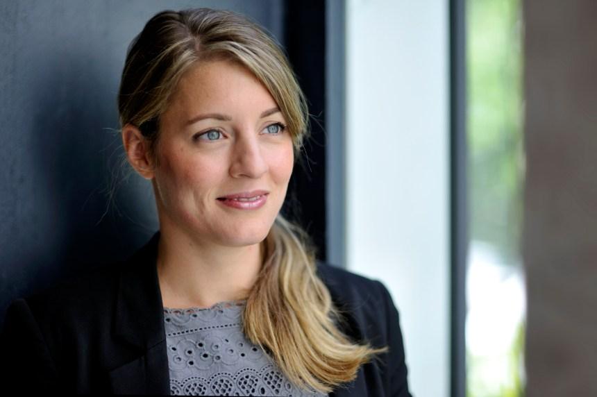 Mélanie Joly candidate à l'investiture à Ahuntsic-Cartierville