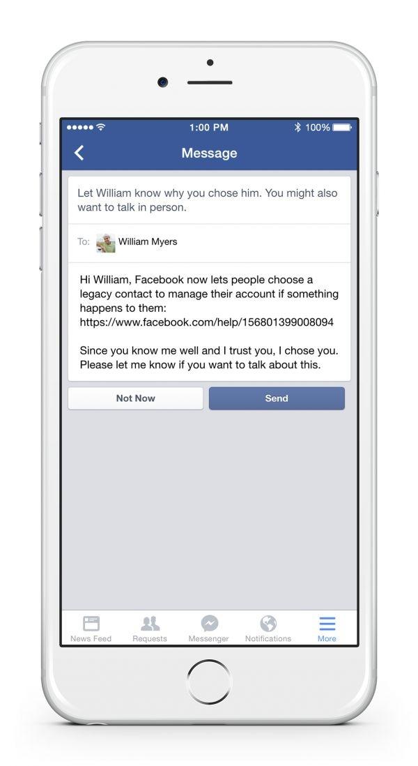 Choisir un administrateur pour son compte Facebook après sa mort