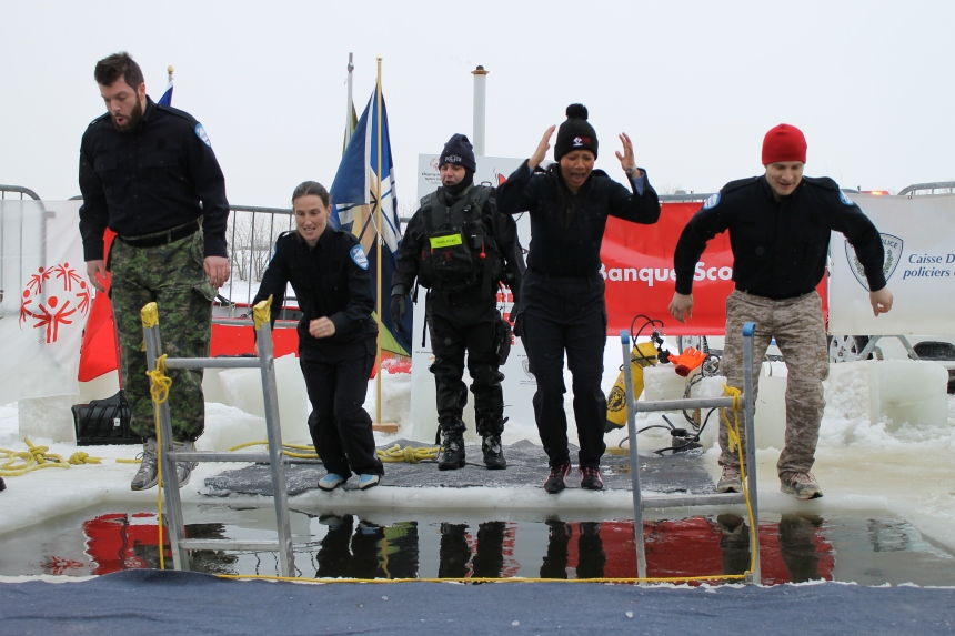 Le PDQ 42 saute à l'eau au profit des Olympiques spéciaux