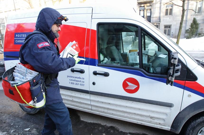 Montréal invité à joindre le recours contre Postes Canada