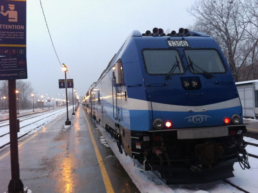 L'AMT rétablit le service aux gares Anjou et Saint-Léonard–Montréal-Nord en contrepointe