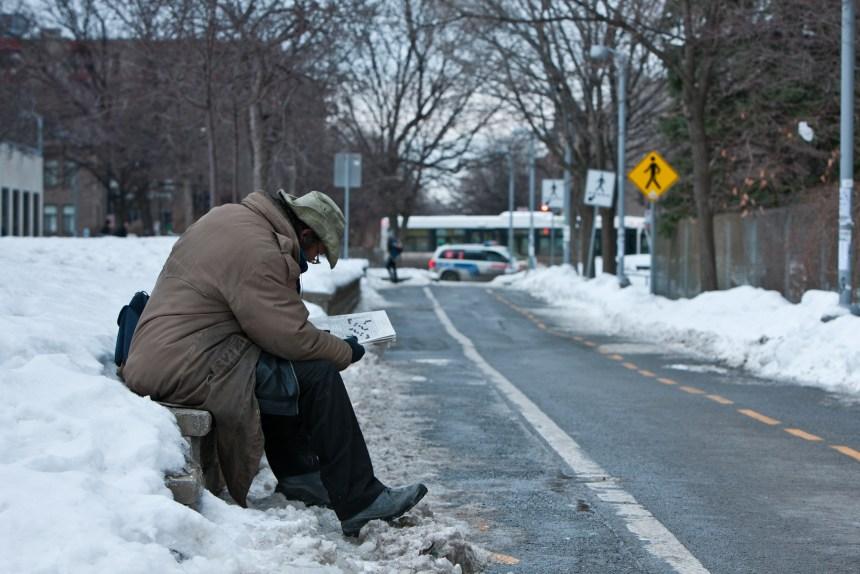 Températures glaciales: mobilisation pour aider les itinérants