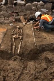 Les squelettes retrouvés étaient en très bon état.