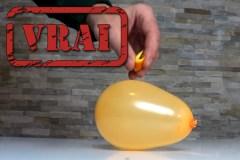 Oui, on peut faire éclater un ballon avec une pelure d'orange (voici comment)