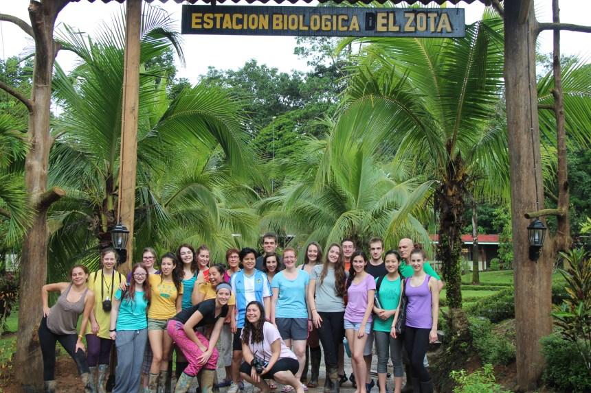 Des étudiants du Cégep Gérald-Godin découvrent le Costa Rica