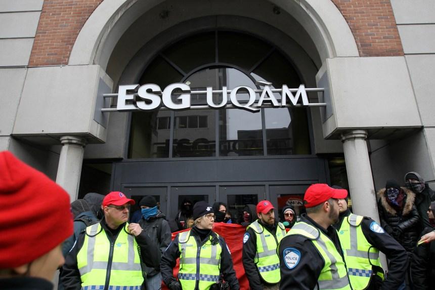 Manifestation étudiante: l'UQAM demande une injonction