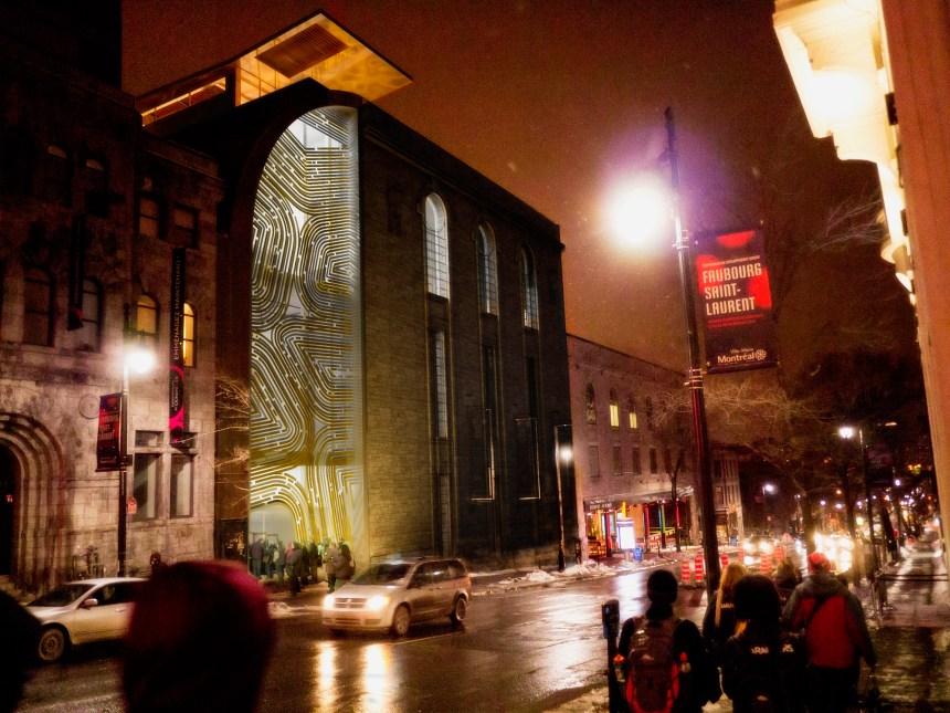 Cirque et architecture dans le QDS