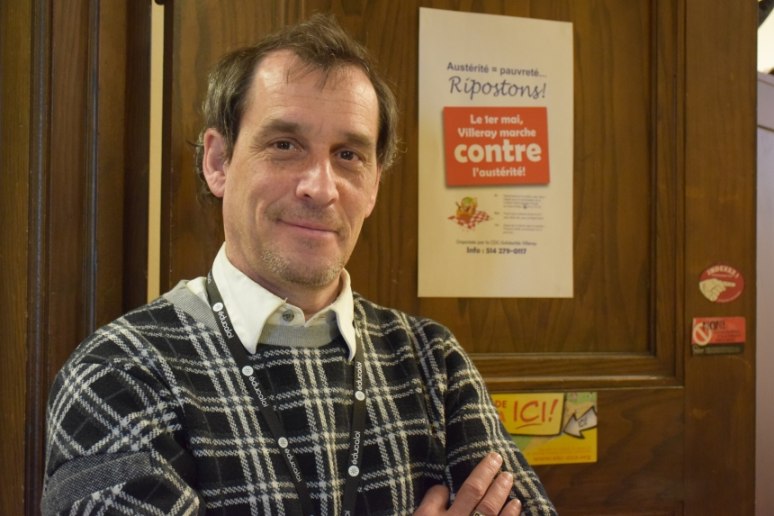 Un nouveau coordonnateur pour la CDC Solidarités Villeray