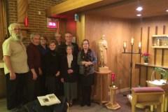 La paroisse Saint-Donat héberge maintenant le Sanctuaire Saint-Pérégrin