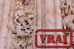 Oui, il y a un astronaute sur cette cathédrale vieille de 500 ans