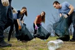 Nettoyage printanier des berges