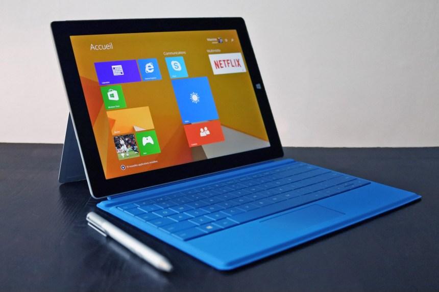 Mise à l'essai de la Surface 3: un ordinateur-tablette pour les étudiants