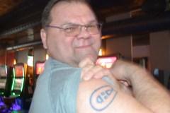 Un fan des Canadiens tatoué à l'effigie du tricolore
