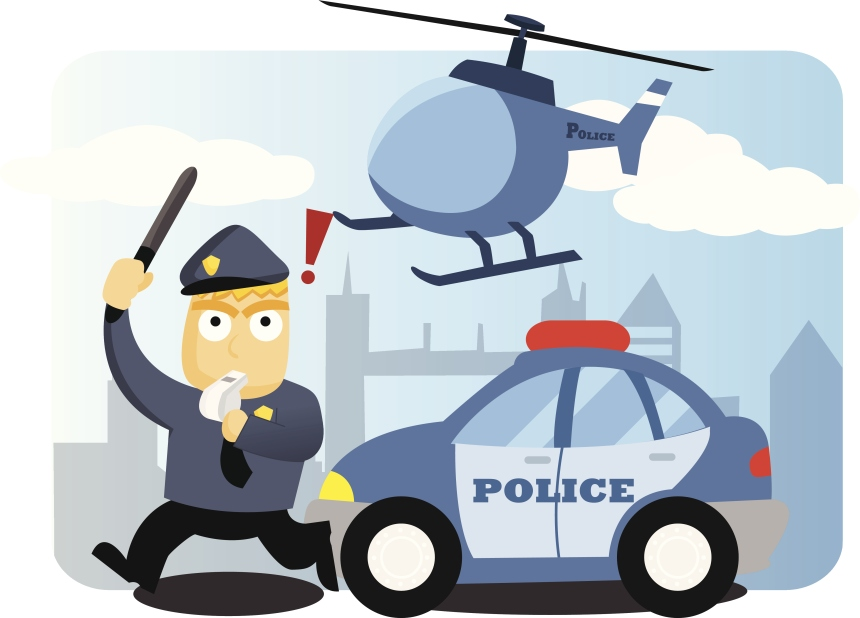 Pourquoi ce policier me suit-il?