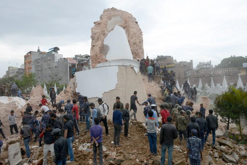 Le riche patrimoine culturel du Népal dévasté par le séisme