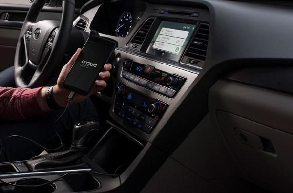 Android Auto offert sur les Sonata 2015 et 2016 cet été au Canada