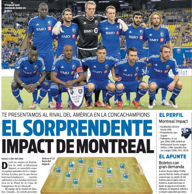 Le Québec dans le monde: L'Impact, la CONCACAF et le retour à la MLS