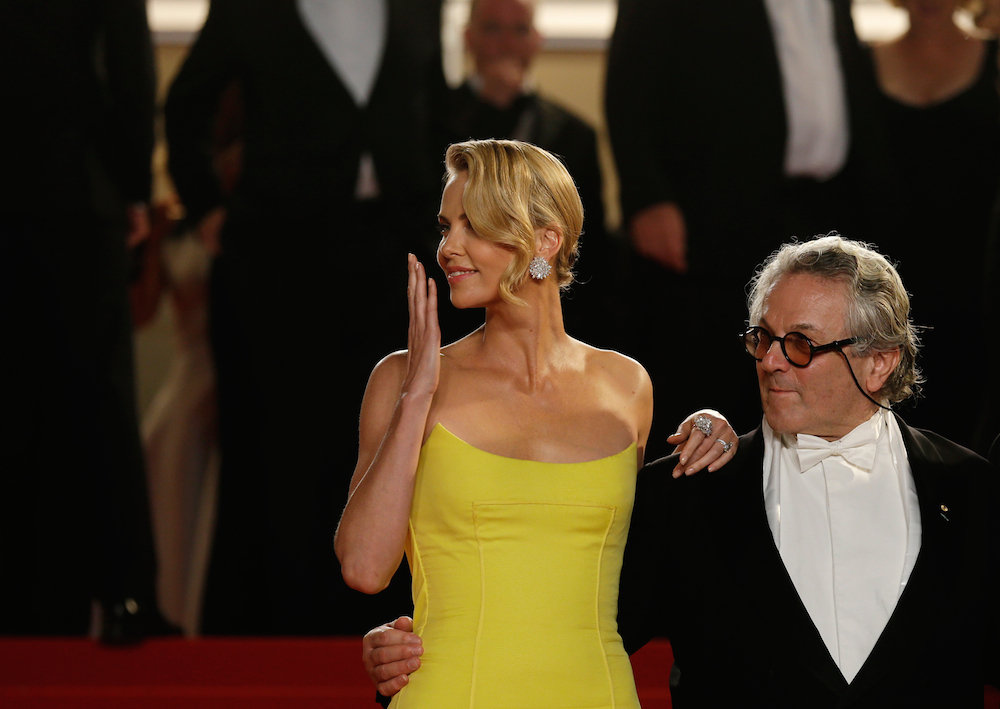 France Cannes Mad Max Exits