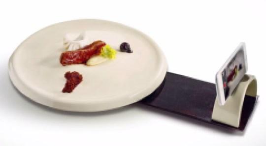 Assiette 360 pour foodie