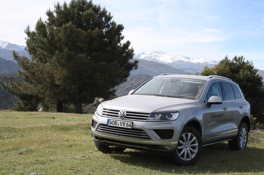 Occuper l'Espagne en Volkswagen Touareg