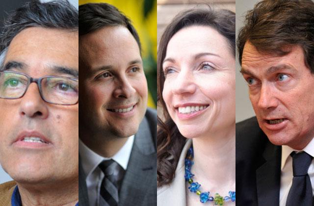 PQ: Entrevues avec les 4 candidats