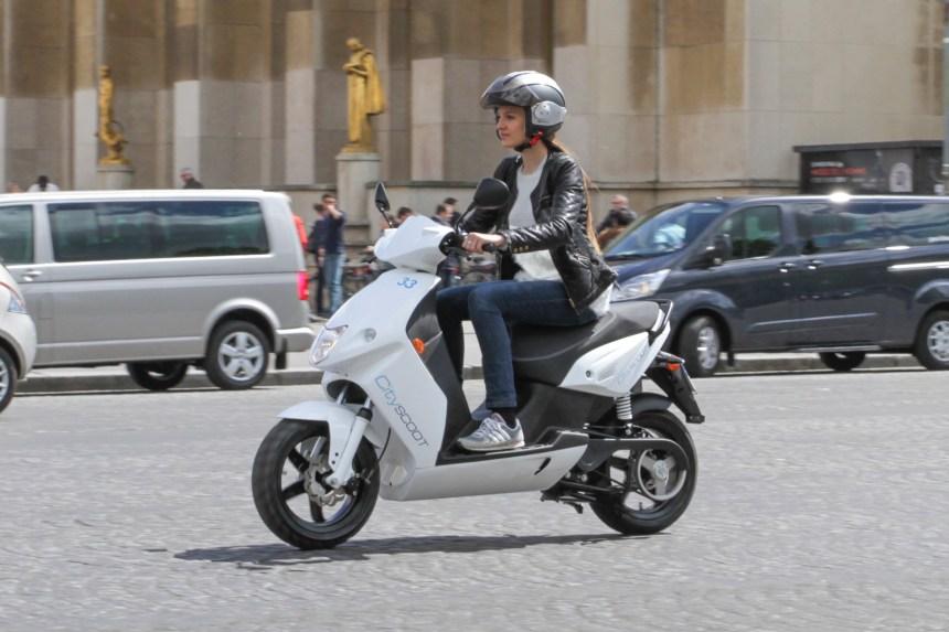 Cityscoot: un nouveau service de location de scooters attendu à Paris en juin