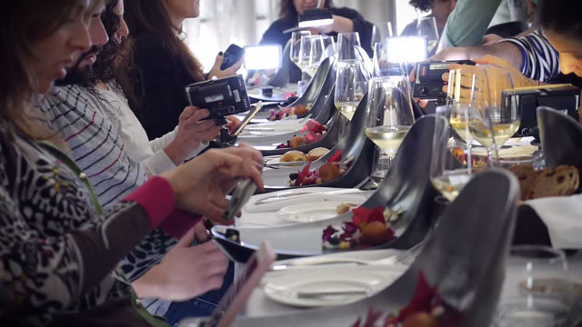 #Foodies : Des assiettes conçues pour photographier ses plats au restaurant