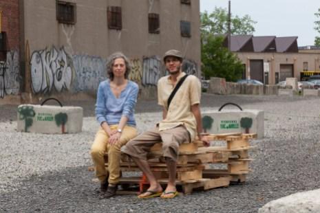 Frances Foster et Simon Van Vliet, des AmiEs du parc des Gorilles.
