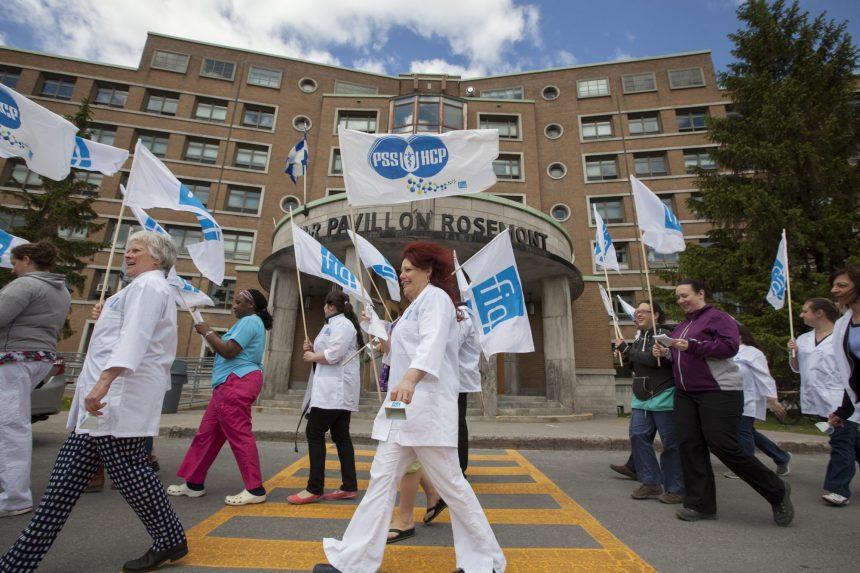 La manifestation «Le 31 mars, on sonne l'alarme!» dans le réseau de la santé autorisée sous conditions
