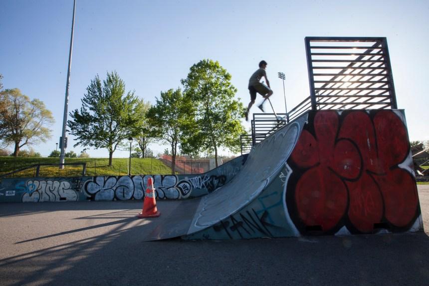 Le réaménagement des skateparks se fait désirer