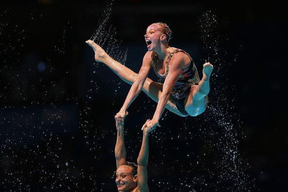 À une étape des Jeux Olympiques