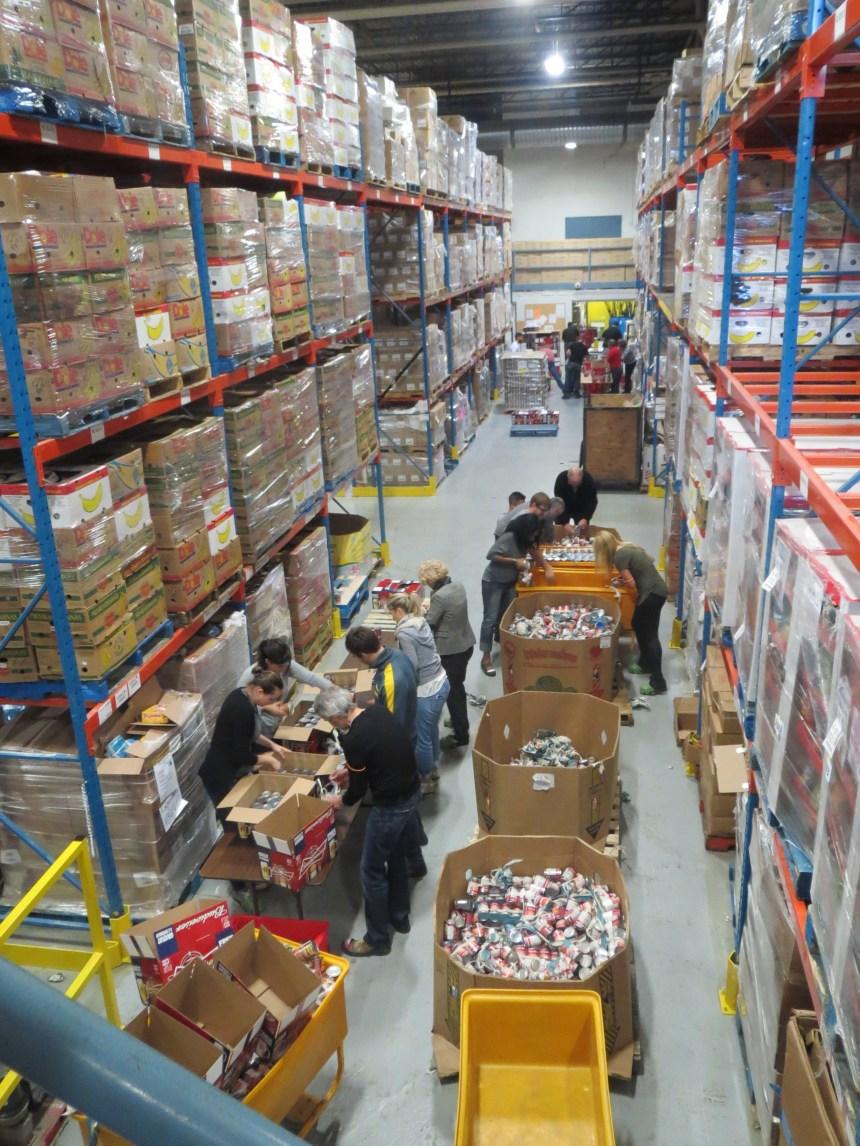L'offre de denrées périssables double à Moisson Montréal