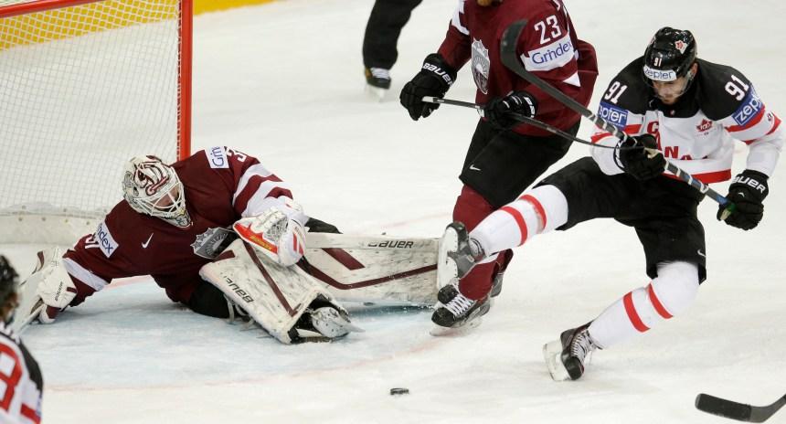 Le Canada amorce le mondial de hockey avec un gain